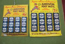 Vintage packaging & advertising