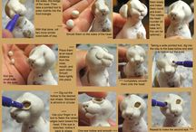 Polymer clay project ideas / by Cerrisa Jones
