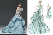 Desainer model pakaian