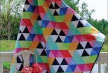 60 degree triangle quilts