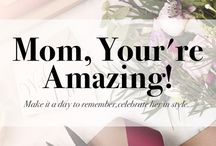 Mother's Day Gift Ideas / Show your love to mom! Give her an unforgettable gift!