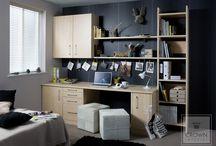 Home Offices / Let Crown help you to create a work space that motivates and inspires you.