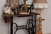 máquinas de coser antiguas /old sewing machines