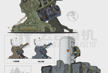 Sci fi, weapons, hard surface