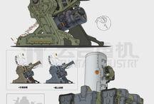 Mech / Artillery, big guns