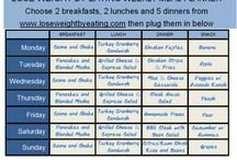 Healthy meal diet plans