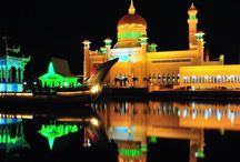 Brunei Darussalam / Brunei combines natural beauty with a rich traditional heritage. Visit the Sultan's house - the largest palace in the world featuring a unique blend of contemporary and traditional Islamic architecture. Brunei travel guide, tips and information