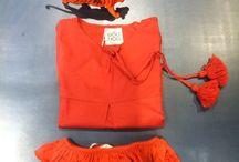 DOUUOD SS2014 orange, fringes, pon pon & grrrrrr / DOUUOD Spring Summer 2014 #orange#fringes#ponpon#grrrrr#tiger