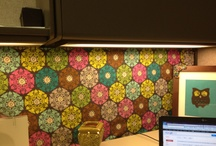 Cubicle Decor / How To Funk Up An Office Cubicle / by Moshidi Manaka