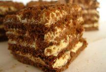 sütemény recept /magyarul/