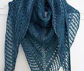 Pletení šály a šátky
