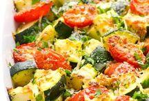 Zuchinni tomato bake