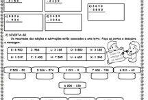 Atividades Matemática 4º ano