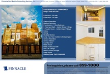 Townhouse / Townhouses - Real Estate / by Pinnacle Real Estate Philippines