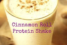 Protein Shakes / yummy sounding and want to try these following protein shakes for post workout and losing wight