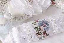 Французская вышивка