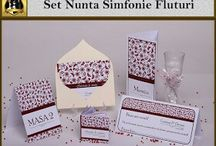 Set nunta Simfonie Fluturi