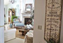 La casa che vorrei / Una casa romantica, piena di fiori e libri!