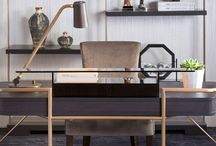 Luxury Study / Library / Home Office / Inspiration and ideas for stylish home office / study decor