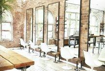 Hairsalon interior