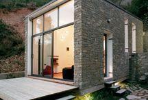 Backyard garden rooms
