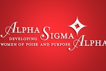 Alpha Sigma Alpha / by Julie Levine