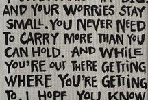 Quotes / by Sheila Weddington