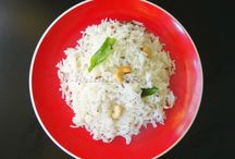 Recipes | Indian | Rice Dishes