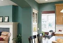 Paint colors for the new house  / by Wendy Voss