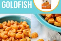 DIY  Goldfish crackers