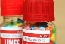 pastillas de mensajes