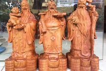 Tượng Tam Đa / Các mẫu tượng gỗ Tam Đa đẹp