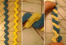 Craft - Fabric/Cloth/Ribbon / by Marjorie Sakelik