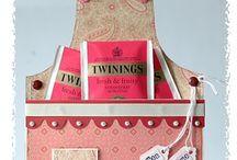 Cards, apron