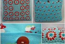 I love crochet cushion / by Ana Flor