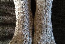 Knitting Socks / Knitting, Socks, Cables, Fair Isle,