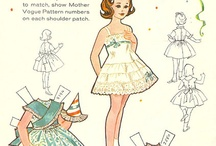 176 Paper Dolls / I loved playing paper dolls as a child.
