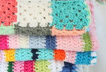 Crochet, knitting blanket