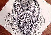 Doodle, Zen, Tangles, Zentangles