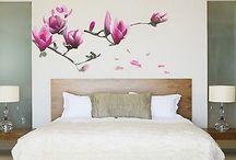 Bedroom wall decorations