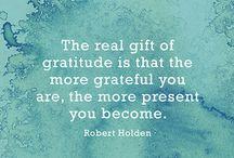 Gratitude / by Mamma Chia