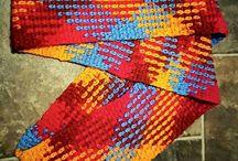 crochet shawls & scarfs