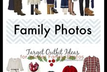 Outfit Ideas for Family and Portrait Photo Session