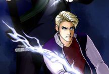 Percy Jackson y Harry Potter