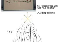 paper embroidery patterns