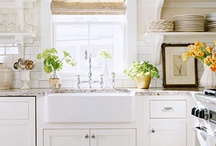 Kitchens / kitchens, kitchen, kitchen cabinets, kitchen design / by Amy Chalmers of Maison Decor Interiors