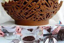 шоколад с конфетами
