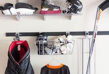 storing sports stuff