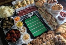 Game day foods / by Tiffany Huston