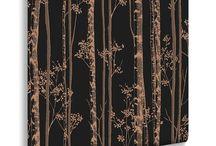 Olson Black Butte Powder Room / modern, rustic, alpine